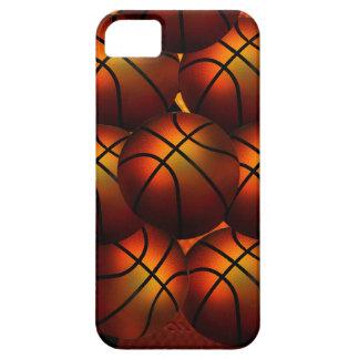 Caja de la casamata de Iphone 5 del baloncesto Funda Para iPhone 5 Barely There