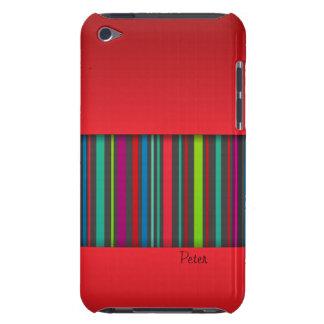 Caja de la casamata de iPod del color rojo y de la Case-Mate iPod Touch Carcasa