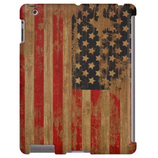 Caja de la casamata de la bandera americana