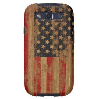 Caja de la casamata de la bandera americana galaxy s3 cárcasas