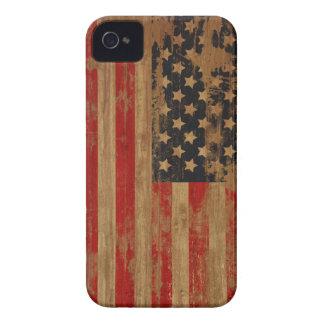Caja de la casamata de la bandera americana iPhone 4 protectores