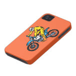 Caja de la casamata de la bici de la suciedad iPhone 4 fundas