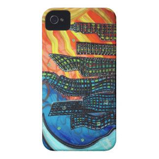 Caja de la casamata de la ciudad celestial Case-Mate iPhone 4 protectores