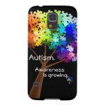 Caja de la casamata de la conciencia del autismo funda de galaxy s5