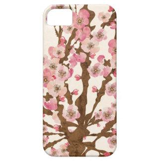 Caja de la casamata de la flor de cerezo iPhone 5 Case-Mate cárcasas