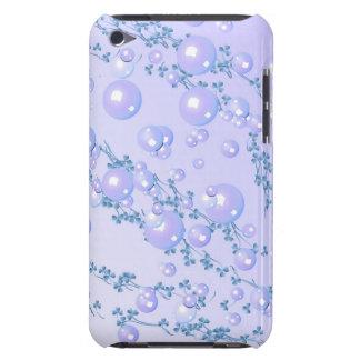 caja de la casamata de la perla de la lila iPod touch Case-Mate cobertura