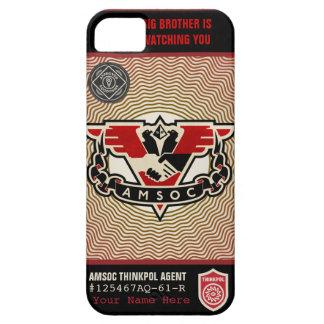 Caja de la casamata de la policía 1984 AMSOC del p iPhone 5 Case-Mate Cobertura