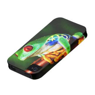 Caja de la casamata de la rana 1 iPhone 4 fundas