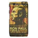 Caja de la casamata de la revolución de Ron Paul Droid RAZR Carcasas