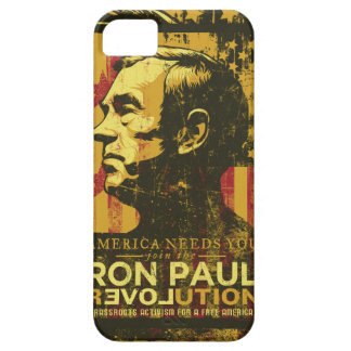 Caja de la casamata de la revolución de Ron Paul iPhone 5 Coberturas