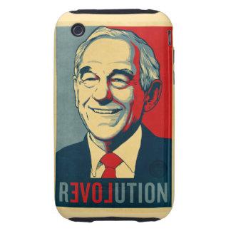 Caja de la casamata de la revolución de Ron Paul iPhone 3 Tough Protectores