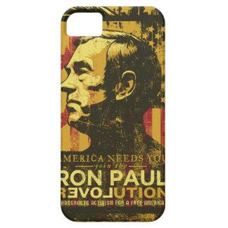 Caja de la casamata de la revolución de Ron Paul iPhone 5 Carcasas
