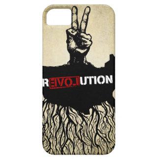 Caja de la casamata de la revolución del amor iPhone 5 carcasa