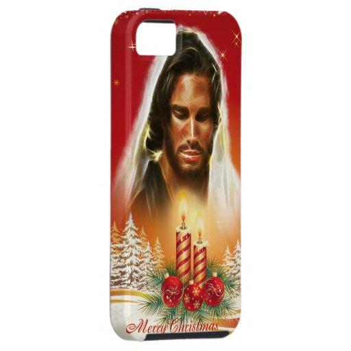 Caja de la casamata de las Felices Navidad 16 iPhone 5 Carcasa