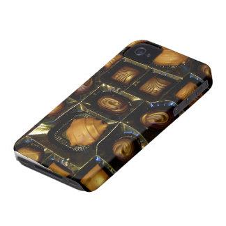 Caja de la casamata de los amantes del chocolate iPhone 4 Case-Mate coberturas
