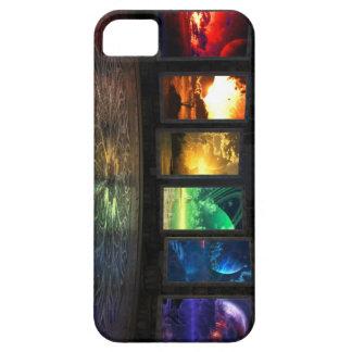 Caja de la casamata de los portales iPhone 5 funda