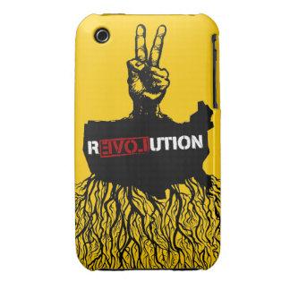 Caja de la casamata de los pueblos de R3VOLution iPhone 3 Case-Mate Carcasas