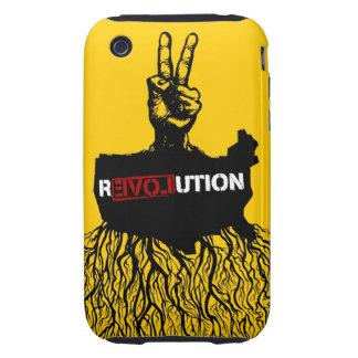 Caja de la casamata de los pueblos de R3VOLution Tough iPhone 3 Carcasa