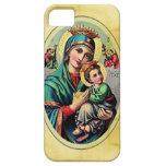 Caja de la casamata de Maria de la madre iPhone 5 Carcasas