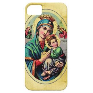 Caja de la casamata de Maria de la madre iPhone 5 Fundas