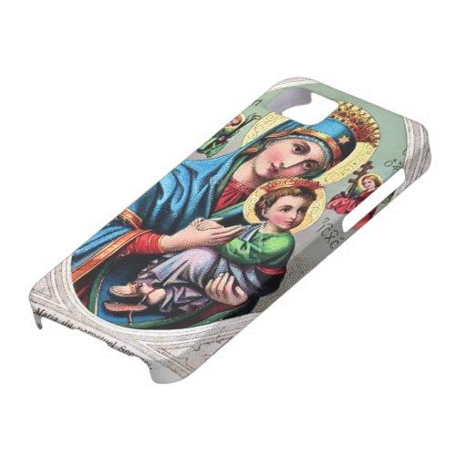 Caja de la casamata de Maria de la madre iPhone 5 Case-Mate Protectores