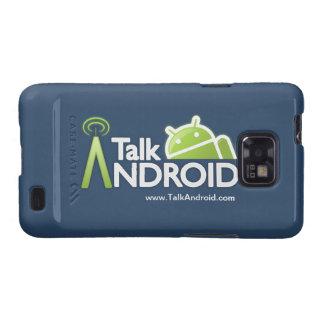 Caja de la casamata de TalkAndroid para la galaxia Samsung Galaxy S2 Funda