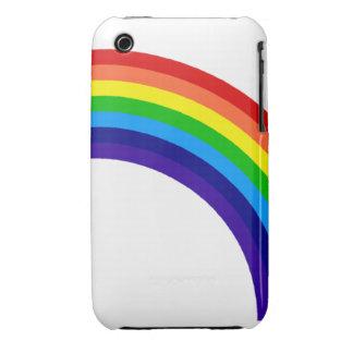 Caja de la casamata del arco iris iPhone 3 Case-Mate cobertura
