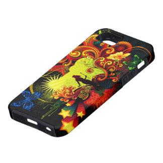 Caja de la casamata del arte 20 de la mariposa iPhone 5 carcasa