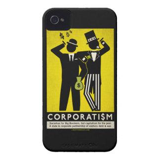 Caja de la casamata del corporatismo carcasa para iPhone 4