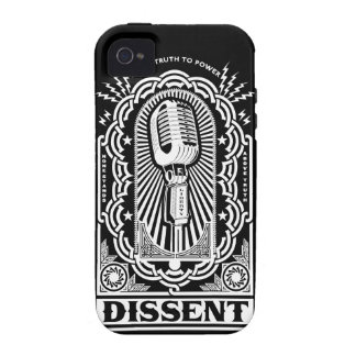 Caja de la casamata del desacuerdo funda Case-Mate para iPhone 4