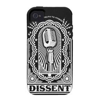 Caja de la casamata del desacuerdo iPhone 4/4S fundas