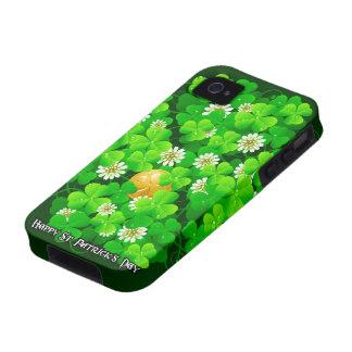 Caja de la casamata del día 18A de St Patrick Funda Vibe iPhone 4