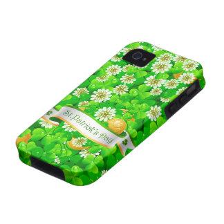 Caja de la casamata del día 20/21A de St Patrick Funda Case-Mate Para iPhone 4