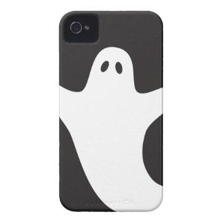 Caja de la casamata del fantasma de Halloween iPhone 4 Case-Mate Cárcasa