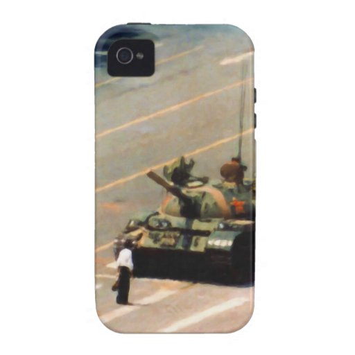 Caja de la casamata del hombre del tanque carcasa para iPhone 4/4S