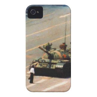 Caja de la casamata del hombre del tanque iPhone 4 Case-Mate fundas