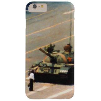 Caja de la casamata del hombre del tanque funda para iPhone 6 plus barely there