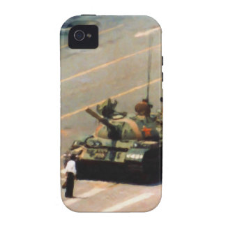 Caja de la casamata del hombre del tanque Case-Mate iPhone 4 fundas