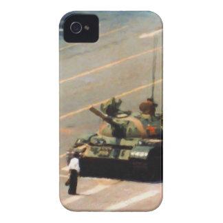 Caja de la casamata del hombre del tanque iPhone 4 funda