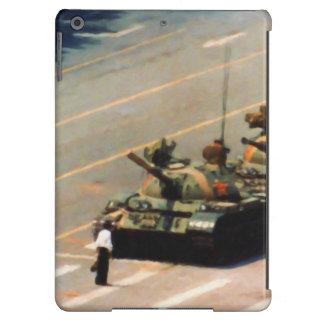 Caja de la casamata del hombre del tanque funda para iPad air