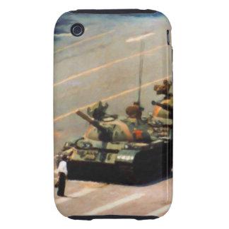 Caja de la casamata del hombre del tanque tough iPhone 3 protector
