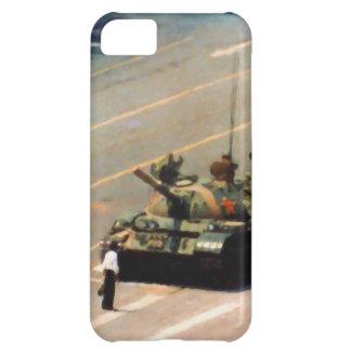 Caja de la casamata del hombre del tanque funda para iPhone 5C