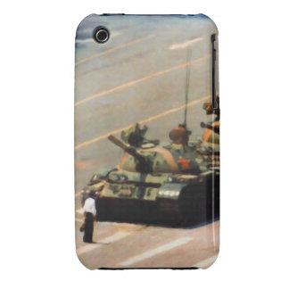 Caja de la casamata del hombre del tanque iPhone 3 cobreturas