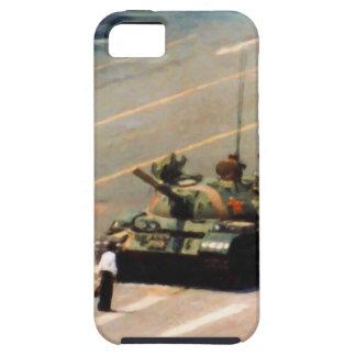 Caja de la casamata del hombre del tanque iPhone 5 carcasa