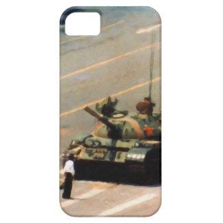 Caja de la casamata del hombre del tanque iPhone 5 carcasas