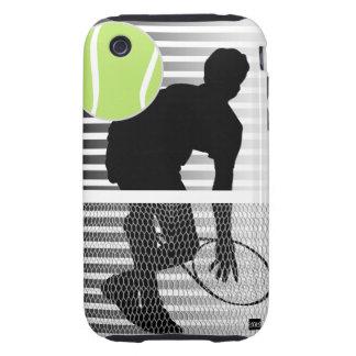 Caja de la casamata del iPhone 3 del tenis Tough iPhone 3 Protectores