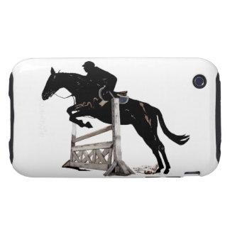 Caja de la casamata del iPhone 3g del caballo del  Tough iPhone 3 Protectores