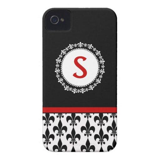 Caja de la casamata del iPhone 4/4S de la flor de  iPhone 4 Case-Mate Cobertura