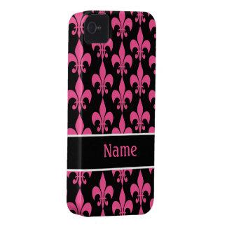 Caja de la casamata del iPhone 4/4S de la flor de  iPhone 4 Case-Mate Fundas