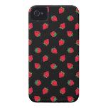 Caja de la casamata del iPhone 4/4S de la fresa iPhone 4 Case-Mate Cárcasas